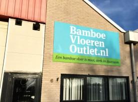 Onze Bamboe vloeren en platen outlet is vanaf 7 december geopend.