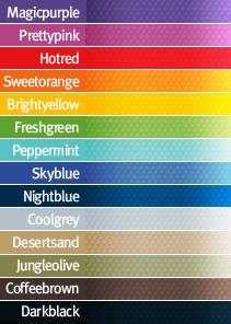 Luemmel Lummel zitelement kleuren stof