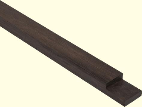 Bamboo X-treme onderbalk voor terras